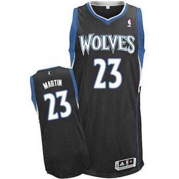 Revolution 30 Minnesota Timberwolves #23 Kevin Martin Black Stitched NBA Jersey