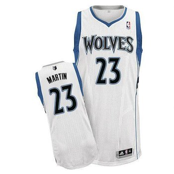 Revolution 30 Minnesota Timberwolves #23 Kevin Martin White Stitched NBA Jersey