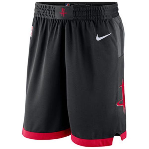 Rockets Black Statement Nike Swingman Shorts