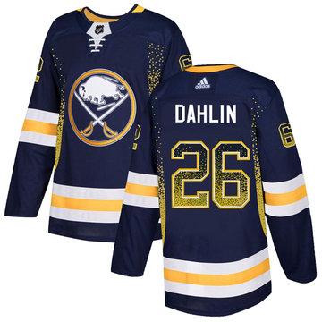 Sabres 26 Rasmus Dahlin Navy Drift Fashion Adidas Jersey