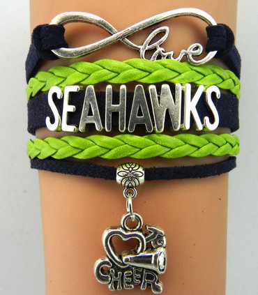 Seattle Seahawks Bracelet 2