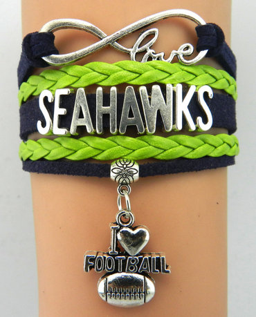 Seattle Seahawks Bracelet 4