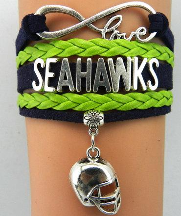 Seattle Seahawks Bracelet 6