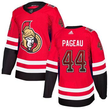 Senators 44 Jean-Gabriel Pageau Red Drift Fashion Adidas Jersey
