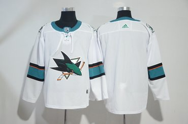 Sharks Blank White Adidas Jersey