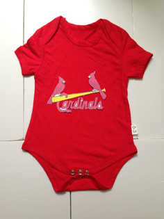 St. Louis Cardinals MLB Kids Newborn&Infant Gear Red