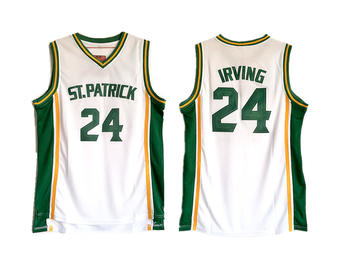 St. Patrick High School 24 Kyrie Irving Basketball Jersey