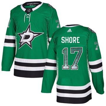 Stars 17 Devin Shore Green Drift Fashion Adidas Jersey