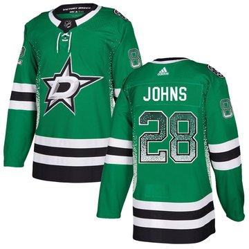 Stars 28 Stephen Johns Green Drift Fashion Adidas Jersey