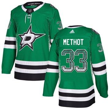 Stars 33 Marc Methot Green Drift Fashion Adidas Jersey