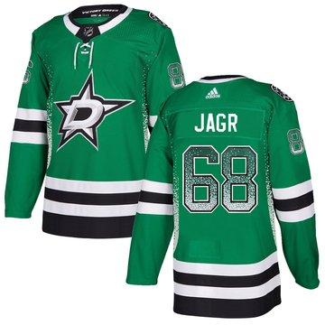 Stars 68 Jaromir Jagr Green Drift Fashion Adidas Jersey