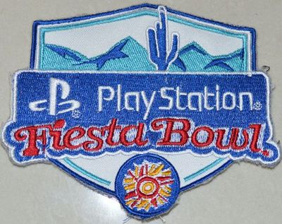 Stitched 2017 Play Station Fiesta Bowl Patch