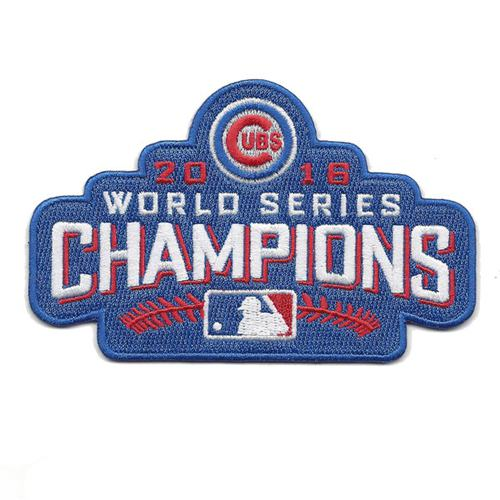 Stithced 2016 Chicago Cubs World Series Champions Jerseys Patch