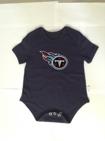 Tennessee Titans Newborn Creeper Set -Navy Blue
