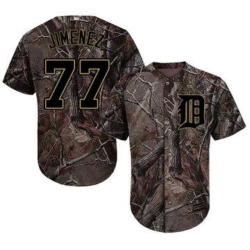 Tigers #77 Joe Jimenez Camo Realtree Collection Cool Base Stitched Baseball Jersey