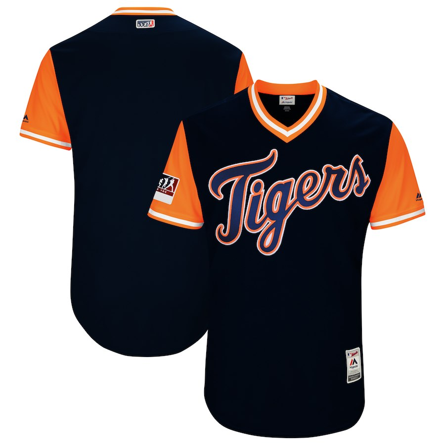 Tigers Black 2018 Players' Weekend Authentic Team Jersey