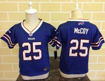 Toddler Nike Buffalo Bills #25 LeSean McCoy Royal Blue Team Color Stitched NFL Elite Jersey