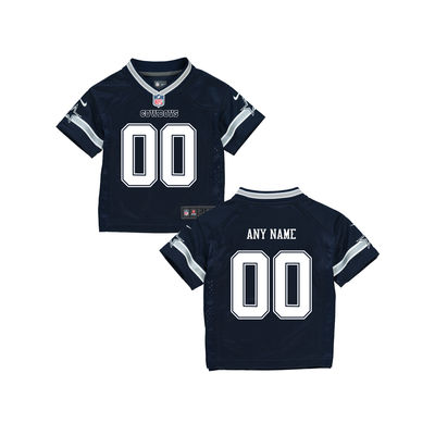 Toddlers Dallas Cowboys Nike Navy Infant Custom Game Jersey