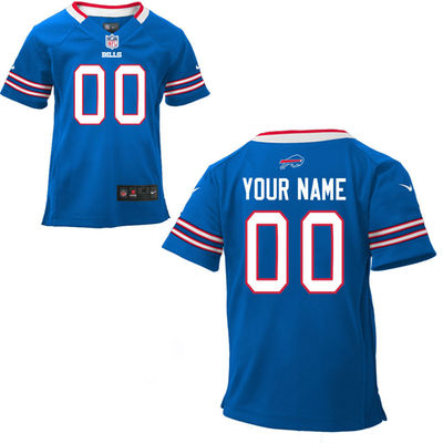 Toddlers Nike Buffalo Bills Infant Customized Game Team Color Jersey