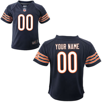 Toddlers Nike Chicago Bears Infant Customized Game Team Color Jersey
