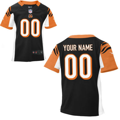 Toddlers Nike Cincinnati Bengals Infant Customized Game Team Color Jersey