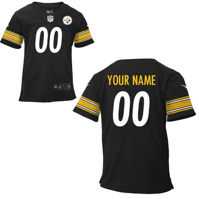 Toddlers Nike Pittsburgh Steelers Infant Customized Game Team Color Jersey