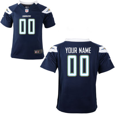 Toddlers Nike San Diego Chargers Infant Customized Game Team Color Jersey