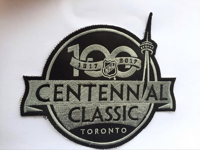 Toronto Maple Leafs 1917-2017 Centennial Classic 100 Year Patch