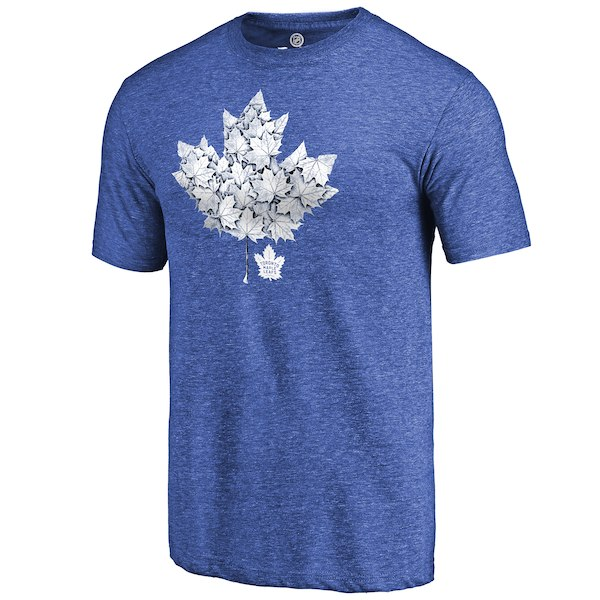 Toronto Maple Leafs Fanatics Branded Royal Hometown Collection Leafs Tri Blend T-Shirt