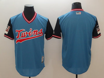 Twins Light Blue 2018 Players' Weekend Authentic Team Jersey