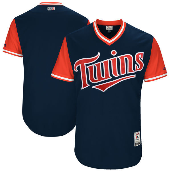 Twins Majestic Navy 2017 Players Weekend Team Jersey
