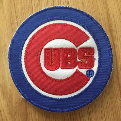 UBS Cubs patch