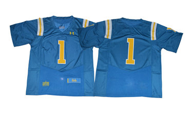 UCLA Bruins #1 Blue College Football Jersey
