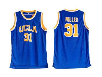 UCLA Bruins 31 Reggie Miller Blue College Basketball Jersey