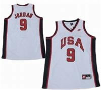 USA Olympic Jersey 9 Michael Jordan Dream Team Navy White