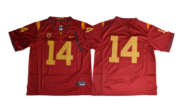 USC Trojans 14 Sam Darnold Red College Football Jersey