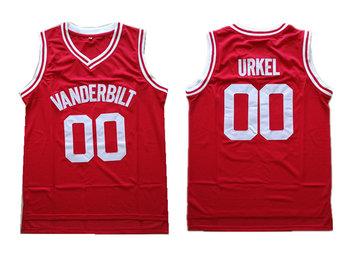 Vanderbilt 00 Steve Urkel Red Collge Basketball Jersey