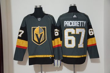Vegas Golden Knights 67 Max Pacioretty Gray Adidas Jersey