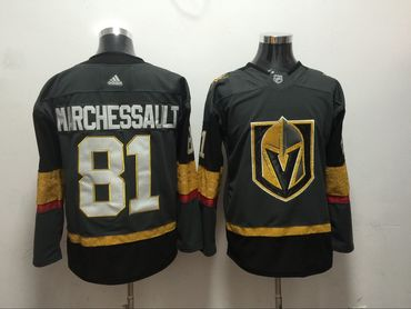 Vegas Golden Knights 81 Jonathan Marchessault Gray Adidas Jersey