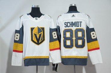 Vegas Golden Knights 88 Nate Schmidt White Adidas Jersey