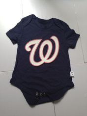 Washington Nationals MLB Kids Newborn&Infant Gear black