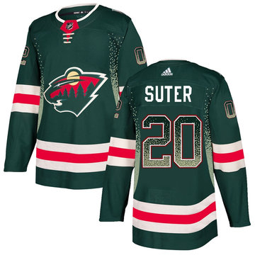 Wild 20 Ryan Suter Green Drift Fashion Adidas Jersey
