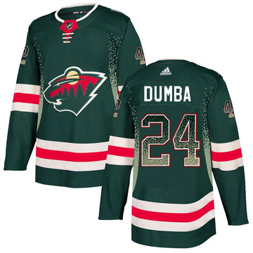 Wild 24 Matt Dumba Green Drift Fashion Adidas Jersey