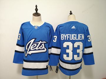 Winnipeg Jets 33 Dustin Byfuglien Blue Alternate Adidas Jersey