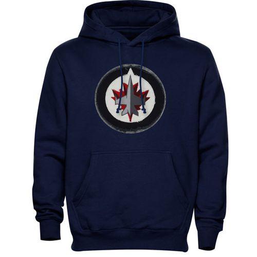 Winnipeg Jets Levelwear Freshman Hoodie Navy Blue