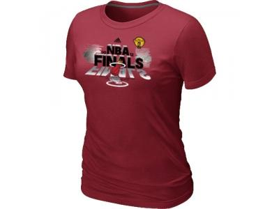 Women Miami Heat adidas 2012 Eastern Conference Champions Red T-Shirt