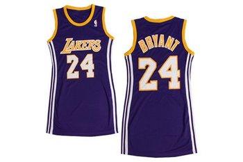 Women NBA Lakers #24 Kobe Bryant Purple Stitched NBA Jersey