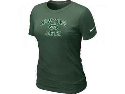 Women New York Jets Heart & Soul D.Green T-Shirt
