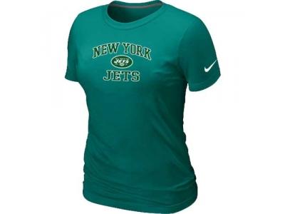 Women New York Jets Heart & Soul L.Green T-Shirt