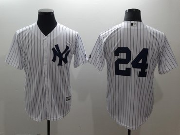 Yankees 24 Gary Sanchez White Cool Base Jersey